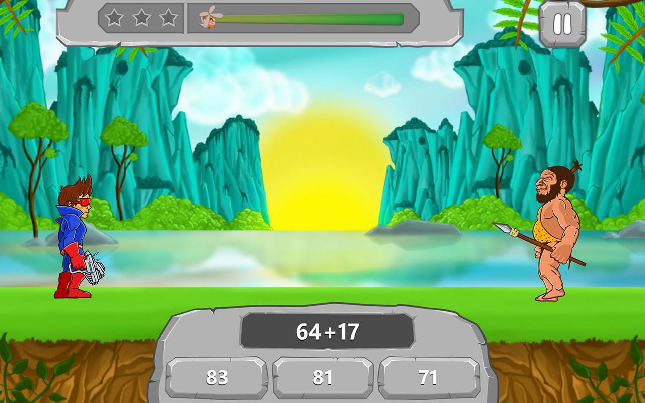 Math vs Dinosaurs Kids Games- screenshot