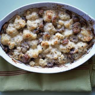 Cauliflower and Chestnut Gratin.