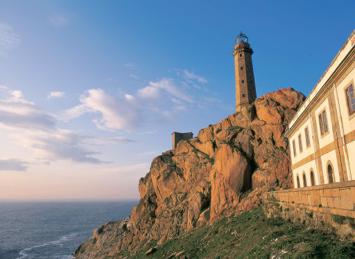 lighthouse-Cabo-de-Gata-Spain - The lighthouse perched on the cliffs of Cabo de Gata in Natural Park Cabo de Gata-Níjar, Spain.