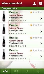 Slovenian Wine- screenshot thumbnail
