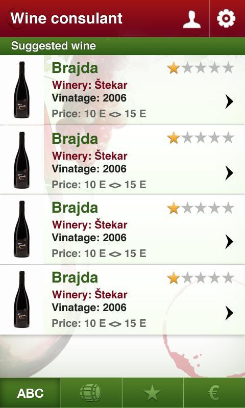 Slovenian Wine- screenshot
