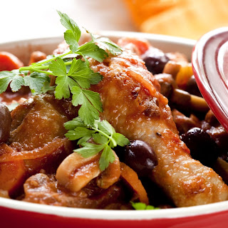 Hearty Slow Cooker Chicken Cacciatore