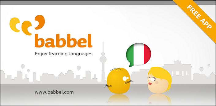 Imparare l'italiano con Babbel