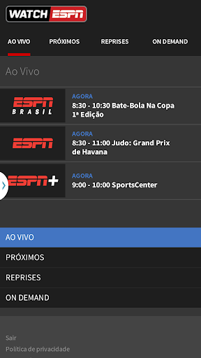 WatchESPN Brasil Apk Download Free for PC, smart TV