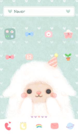 Baby sheep mint dodol theme