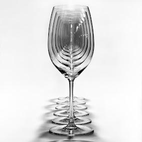 by Alexandru Ciornea - Artistic Objects Glass ( champagne glasses )
