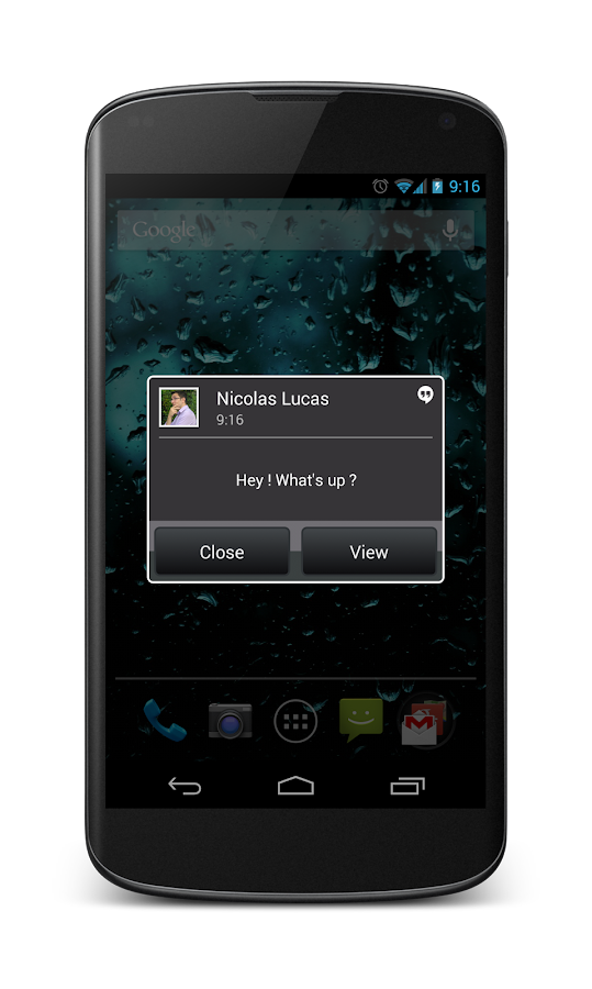 Popup Notifier Free - screenshot