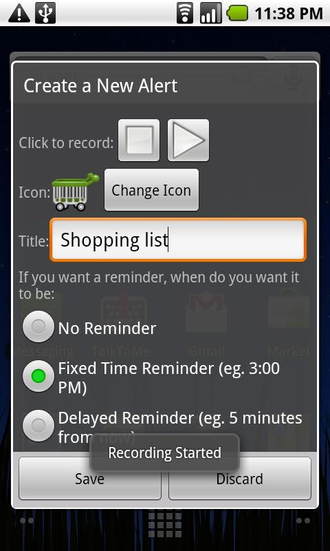 Quick Voice Alerts screenshot #2