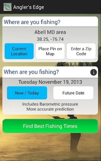 Angler's Edge Solunar Fishing