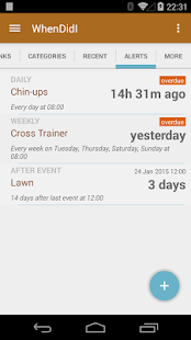 WhenDidI Lite - Event Tracker- screenshot thumbnail