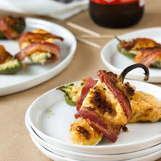 Bacon Cheddar Jalapeño Poppers.
