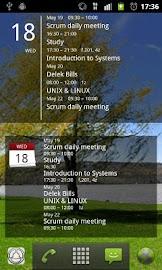 Simple Calendar Widget Screenshot 3