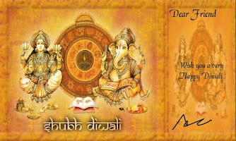Screenshot of Diwali Greetings