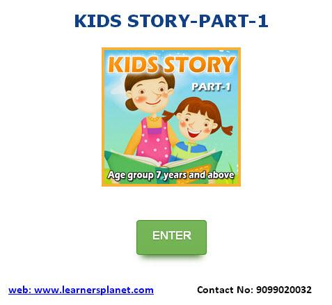 KIDS STORY TIME-PART-1
