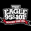 The Eagle Dayton 95.3, 101.1FM icon
