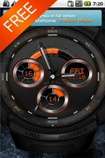 Sports watch_free MXHome theme- screenshot thumbnail