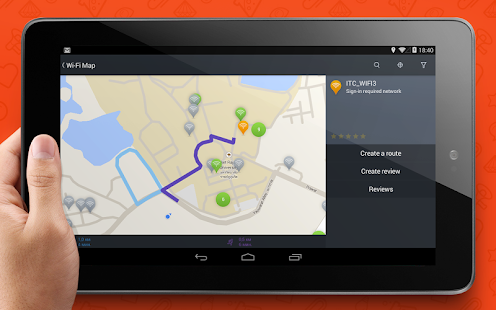 WADA Wi-Fi Maps - Free Wifi- screenshot thumbnail