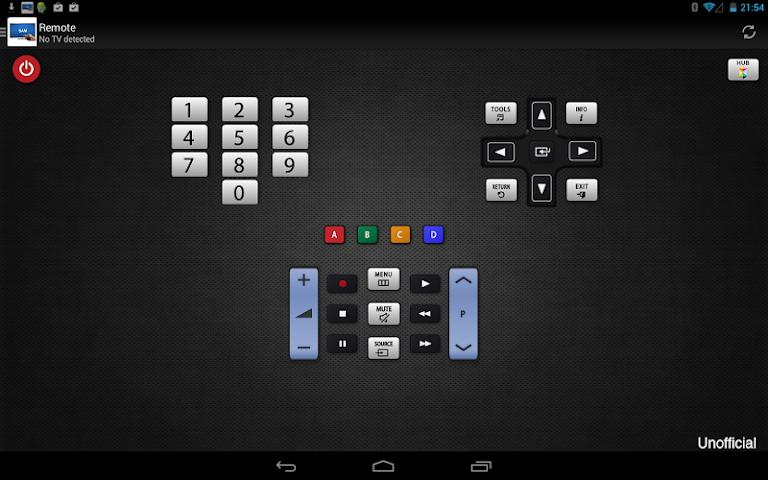 android Télécommande pour TV Samsung Screenshot 0