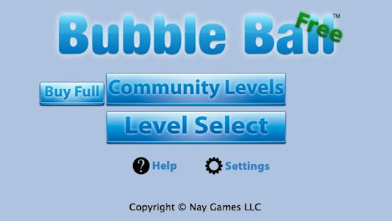 Bubble Ball Free - screenshot thumbnail