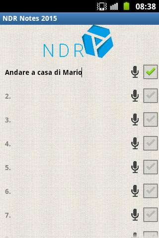 NDR Notes