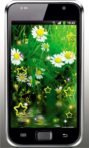 Camomile Fields live wallpaper