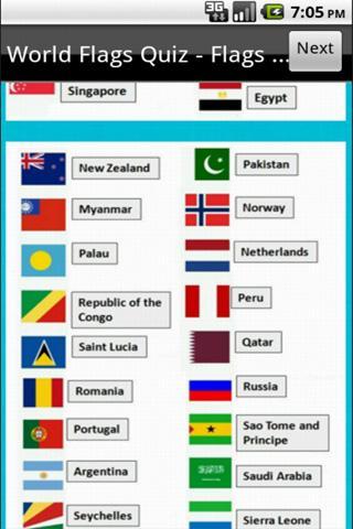 Logo Quiz World Flags