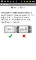 Screenshot of UberScanner