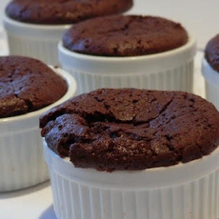 Molten Chocolate-Nutella Pudding Cakes.