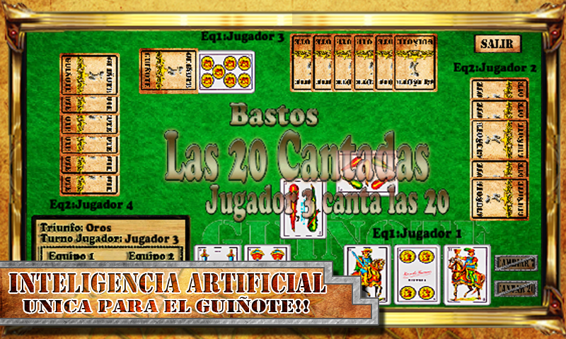 Cards Game Guinote - screenshot