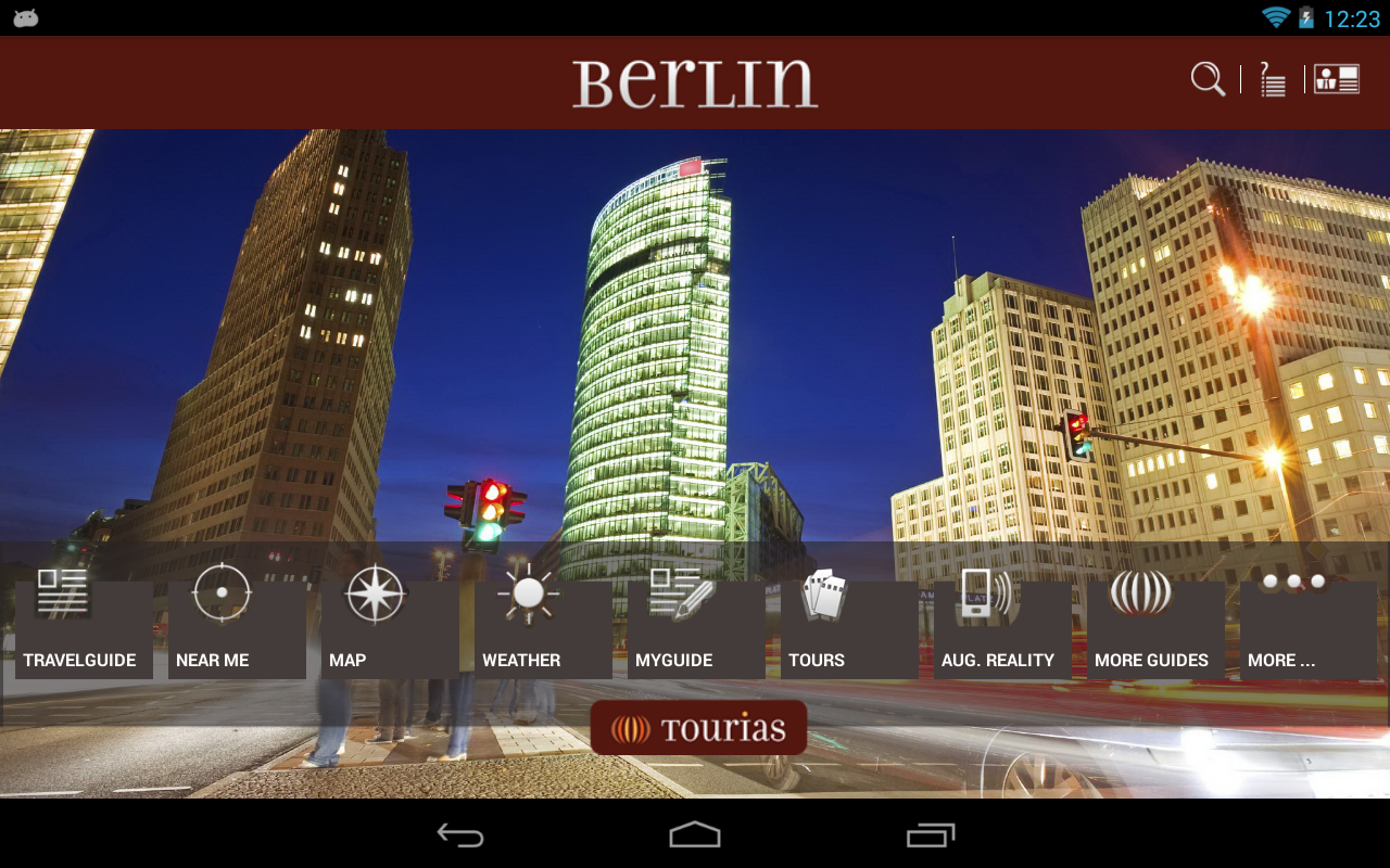 Berlin Travel Guide - Tourias - screenshot