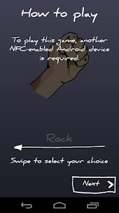 RPSLizardSpock NFC - screenshot thumbnail