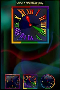 Rainbow Alarm Clock Widget screenshot 1