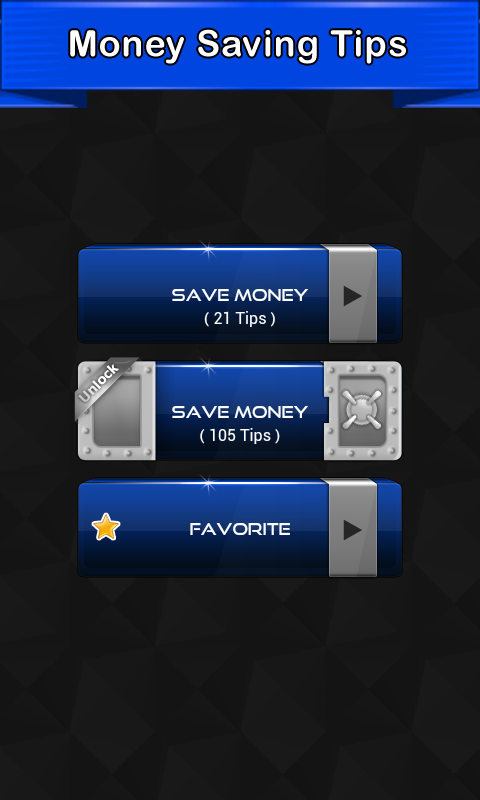 How to Save Money Tips- screenshot