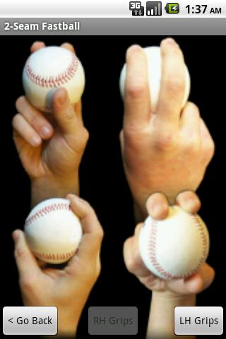 Pitching Hand Pro - screenshot