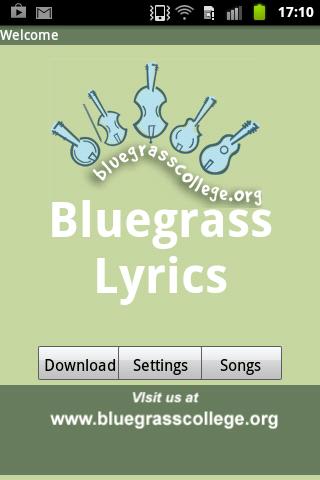 玩免費音樂APP|下載Bluegrass Song Lyrics app不用錢|硬是要APP