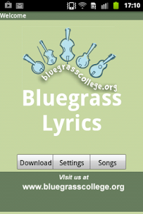 Bluegrass Song Lyrics- screenshot thumbnail