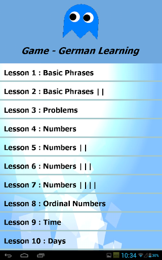 Game - German Learning