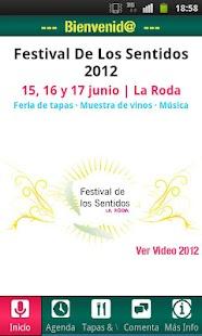 Festival de los Sentidos 2012 - screenshot thumbnail