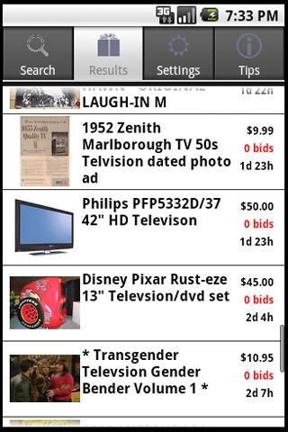 Fat Fingers: for eBay Bargains- screenshot