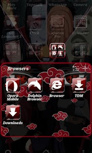 Akatsuki GO Launcher Theme - screenshot thumbnail