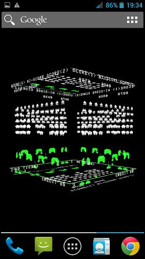 【免費個人化App】Space Invader 3D Cube LWP-APP點子