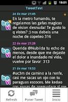 Screenshot of TweetTevi