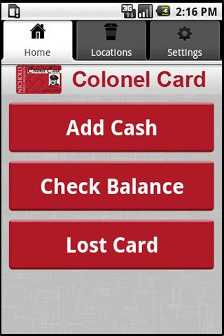Colonel Card - screenshot