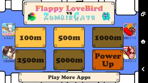 Lovebird vs Zombie Cats
