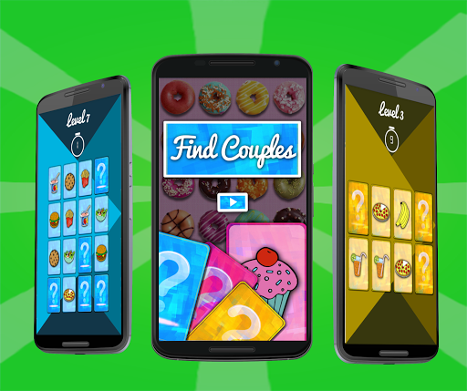 Find Couples Memory game