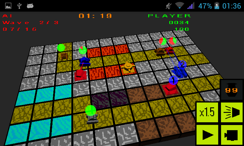 Network TD(β)- screenshot