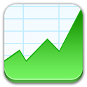 Stock Market Tablet Real-time icon