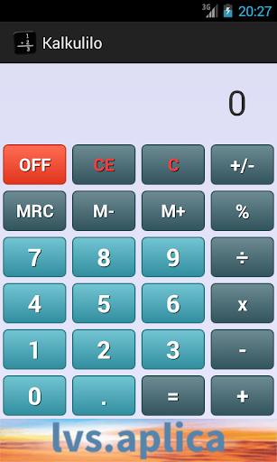 Kalkulilo calculator