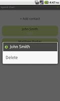 Screenshot of Speed Dial Lite