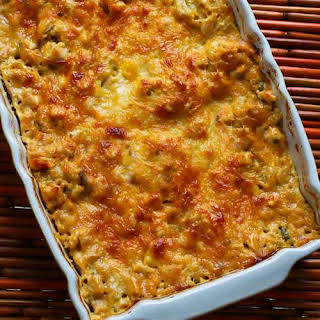 Turkey (or chicken) Lasagna with Sage and Three Cheeses.